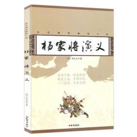 历代通俗畅销小说:杨家将演义