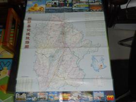 弥勒县交通旅游图  (2开)