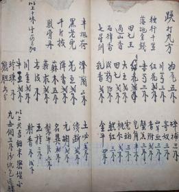 中医古籍手抄本 国医赵飞雄  25