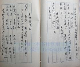 中医古籍手抄本 28