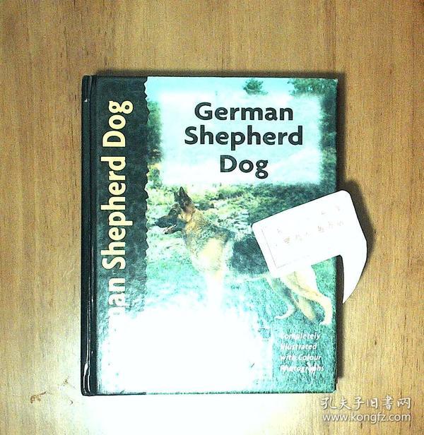 German Shepherd Dog 德国牧羊犬 全彩精装 英文版J