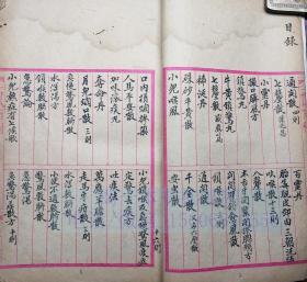 中医古籍手抄本 38