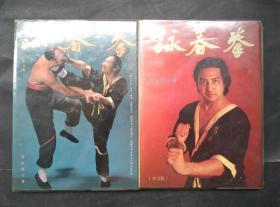 咏春拳 上下两册全 精装本