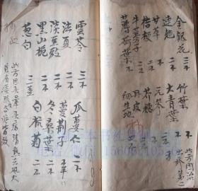 中医古籍手抄本 39