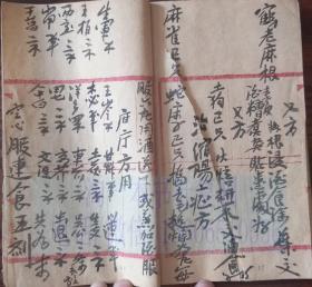中医古籍手抄本 40