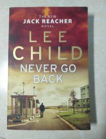 英文原版  Jack Reacher  LEE CHILD NEVER GO BACK