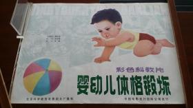 科教电影海报:北京厂《婴幼儿体格锻炼》上海厂《中国地热》(2开)合让