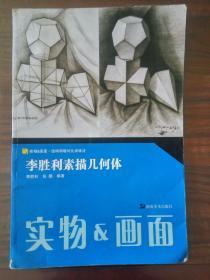 李胜利素描几何体/实物&画面 结构明暗对比训练法