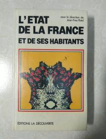 法文原版  L'ETAT DE LA FRANCE ET DE SES HABITANTS    法国政府和居民