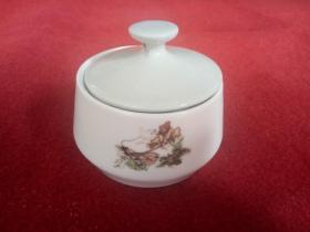 怀旧收藏 八十年代陶瓷茶叶碗 孙悟空三打白骨精图案 邯郸一厂产