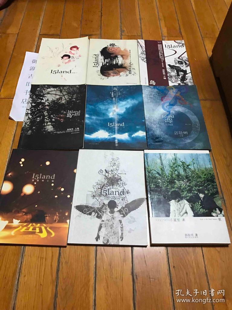 含赠品《1995-2005夏至未》.9册合图片