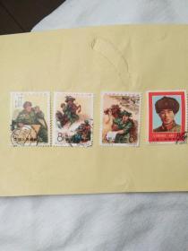 邮票,纪123,盖销票,6---1,6---3,6----4,6----6,上品4枚合集