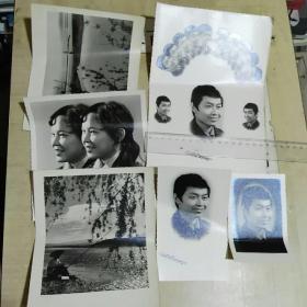 老照片6张合售