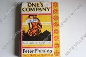 【现货 包邮】1934年傅勒铭著作:ONE\S COMPANY ( A JOURNEY TO CHINA)关于满洲国、红色中国的珍贵记录