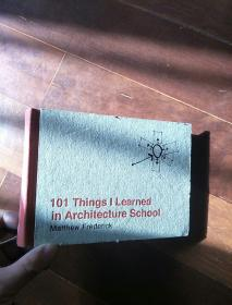 英文原版 101 thing i learned in architecture school natthew frederick