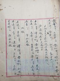 中医古籍手抄本 43