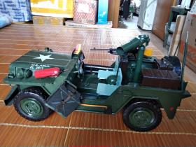 低价出售大号全金属美式军用吉普车模型,摆在书房高端大气上档次。。。。。。。。。。。