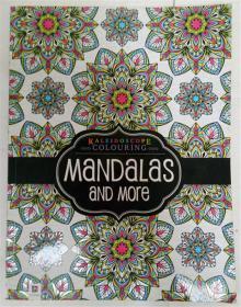 kaleldoscope colouring  mandalas and more  着色平装书