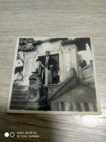 60年代照片:1966年于澳门妈祖阁单人照