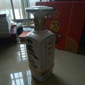 正方体刘伶醉一号瓷酒瓶