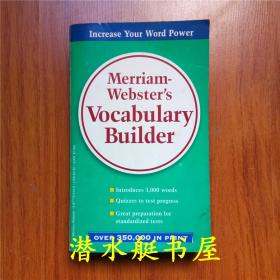 Merriam-Websters Vocabulary Builder