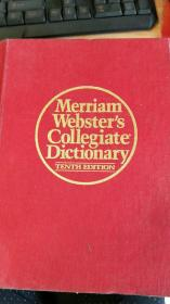 Merriam Webster's COllgiate Dictionary    有手扣  详情请看图