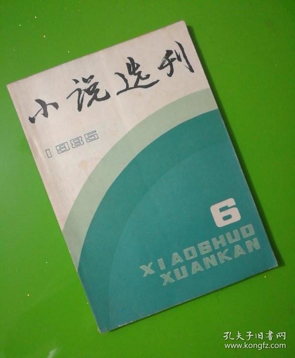 小说选刊1985.6