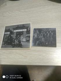 文革照片:于中山纪念中学合影两张