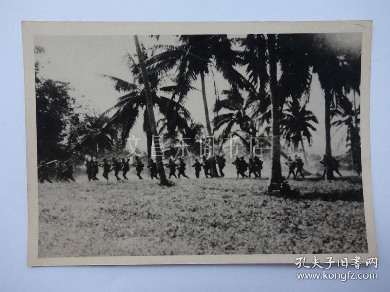 民国时期 日军占领海南岛 三亚榆林 黑白照片1张