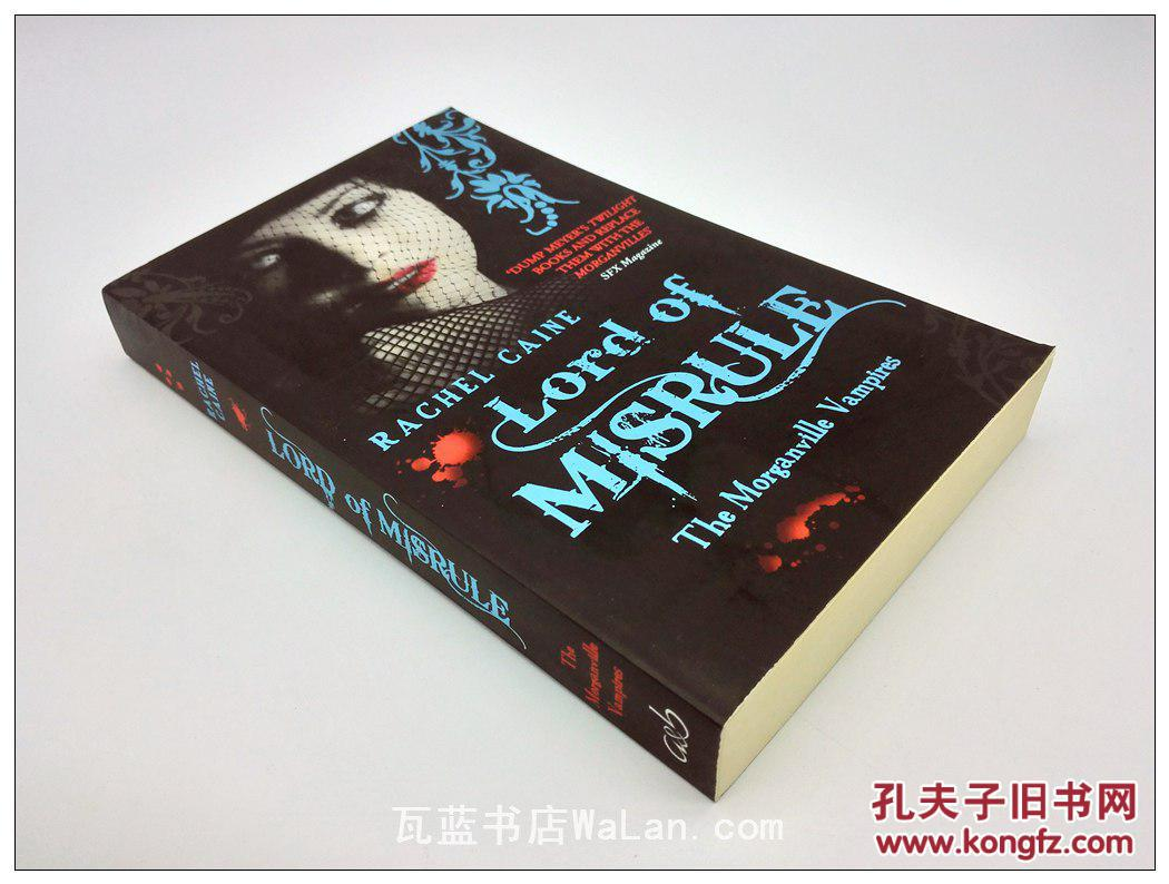 Lord of Misrule---The Morganville Vampires 英文原版小说 吸血鬼系列