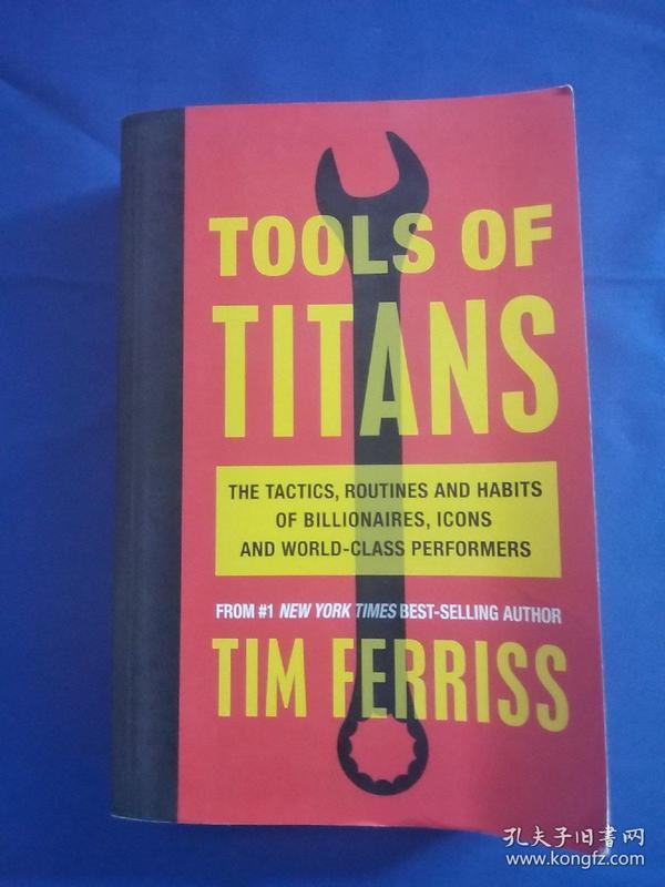 TOOLS OF TITANS TIM FERRISS