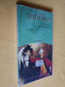法文原版 德尼·狄德罗《拉摩的侄儿》 Le neveu de Rameau.Denis Diderot