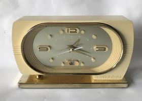 怀旧老闹钟老上海闹钟钻石机械台钟全铜机芯正常走闹