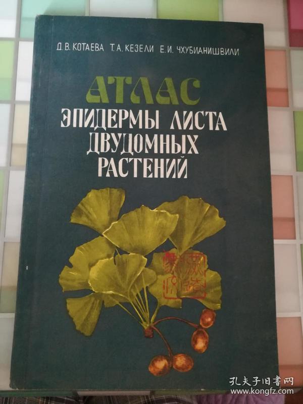 雌雄异株植物:俄文原版《41750》