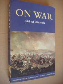 On war【英文版《论战争》 卡尔・冯・奥西茨基著】近全新