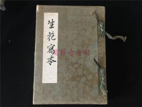 日本花道花艺书《生花写本》1册全。以名家及作者创作的插花图100多幅为主,油印,无版权页等。流传应不广,约20年代出版。孔网首见。