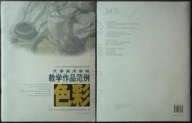 天津美术学院色彩教学作品范例