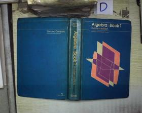 Algebra Book 1 . modern edition
