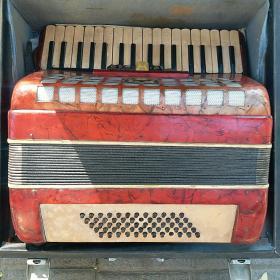 星海牌 老手风琴(70年代 老手风琴