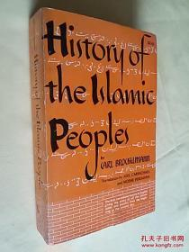 [英文原版]History of the Islamic Peoples伊斯兰民族史