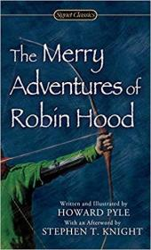 英文原版书 正版插图本 The Merry Adventures of Robin Hood of Great Renown in Nottinghamshire  –  2006 by Howard Pyle  (Author, Illustrator)