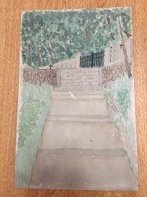1915年日本手绘《天皇御即位御大典纪念画作》一幅