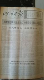 四川日报合订本1976年11月(如果要100本以上的按半价出售,可以议价)