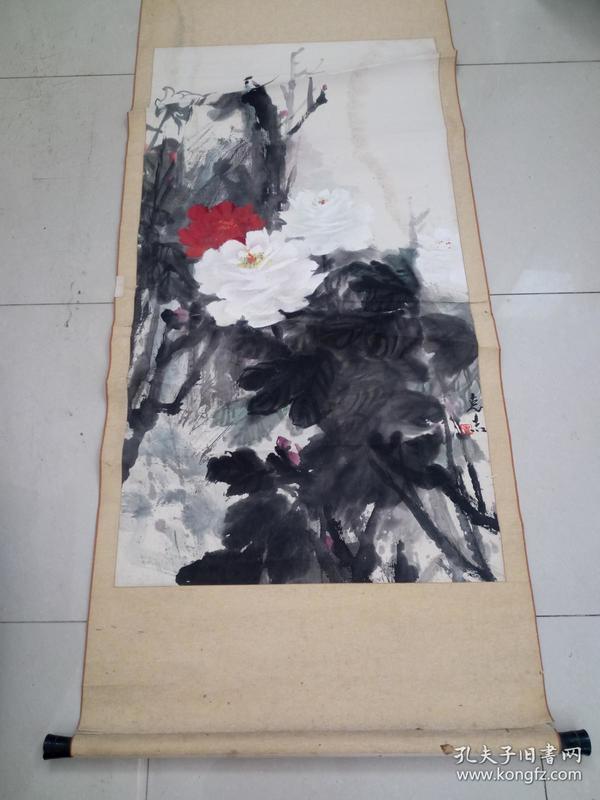河南著名画家张克志作品8平尺保真图片