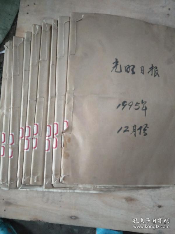 1995光明日报【1-12月缺1.3.7】9个月合售