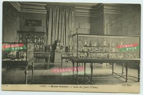 清代1908年法国著名的吉美博物馆收藏的中国玉器,瓷器,佛像,很多都是鸦片战争英法联军从中国掠夺之文物