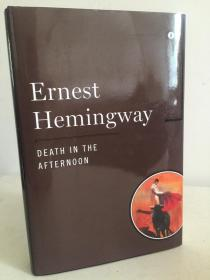 Death in the afternoon by Ernest Hemingway - 海明威 《午后之死 》- Scribner出品 精装大开本