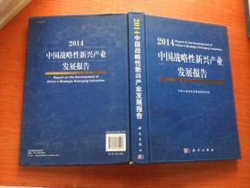 2014中国战略性新兴产业发展报告 16开精装