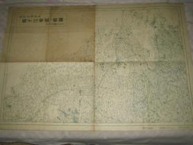 1932年 《《扬子江东部一般图》《上海地图 付南京洛阳》 报知新闻社