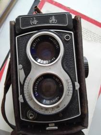 老海鸥相机4B-19113348 老照相机 功能正常 快门也正常 货号AA6